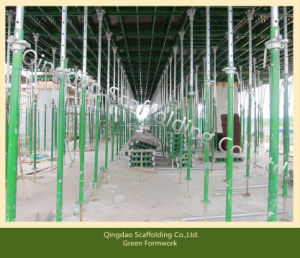 Green Formwork /Panel-Prop Early Stripping /Most Advanced Steel Formwork for Concrete Construction pictures & photos