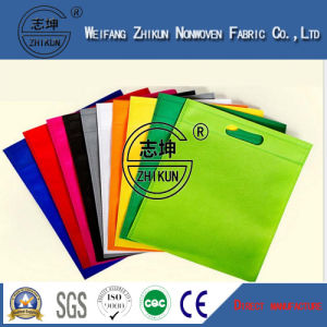 Colorful Tear Resistant PP Non Woven Fabric for Shopping Bag