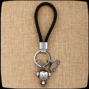 New Design Printed Panda Image Pendant Key Chain pictures & photos