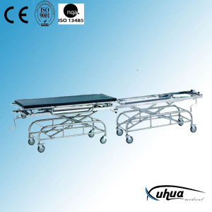 Stainless Steel Hospital Connecting Transfer Stretcher (H-5) pictures & photos