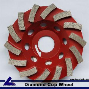 High Quality Diamond Tools Diamond Cup Wheel Diamond Grinding Wheel Diamond Shoes for Polishing pictures & photos