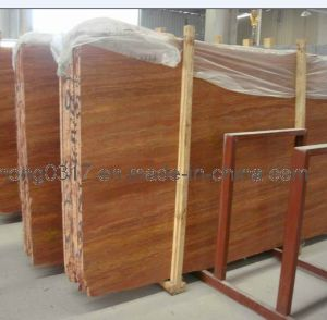 Red Brown Yellow Coffee or Beige Travertine Slabs pictures & photos
