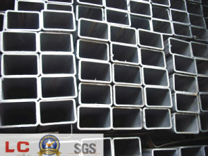 Black Rectangular Hollow Section Pipe pictures & photos