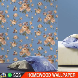 Cheap Price Deep Embossed Vinyl Wallpaper pictures & photos