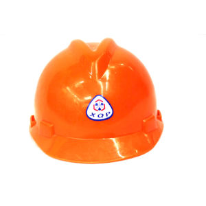 PE Y Type Safety Helmet (Orange) . pictures & photos