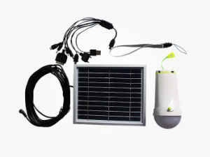 Hot Sale Solar LED Light with Flashlight in Good Price pictures & photos