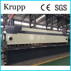 8X3200mm Hydraulic Steel Plate Shearing Machine