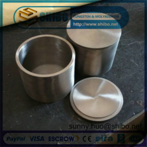 99.95% High Density Molybdenum (moly) Crucible with Lip pictures & photos