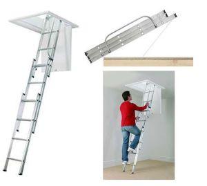 Aluminum Loft Ladder(EN14975/SGS)