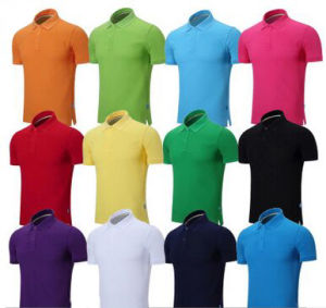 Custom Men′s Polo T Shirt in Various Colors, Sizes, Materials and Designs pictures & photos