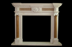 Column Fireplace (FRP359) pictures & photos
