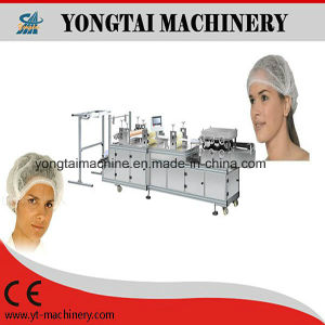 Disposable Polythene / Nonwoven Hair Bath Shower Cap Making Machine pictures & photos