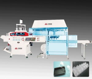 High Performance Plastic Plate Thermoforming Machine with Stacker pictures & photos