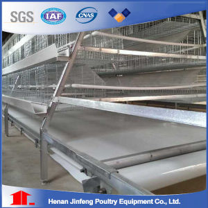 Chicken Layer Battery Cage Made by Henan Jinfeng pictures & photos