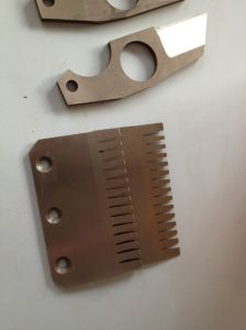 Trim Blade/Trimmer Blade/Industrial Blade: Double Side Trimming Shear Blade pictures & photos