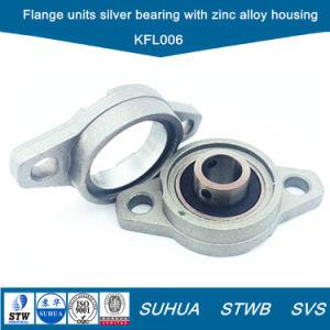 Rhombus Flange Units Silver Bearing with Zinc Alloy Housing (KFL006) pictures & photos
