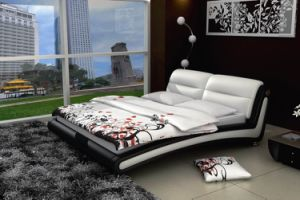Leather Bed (WLNK-V90870#)