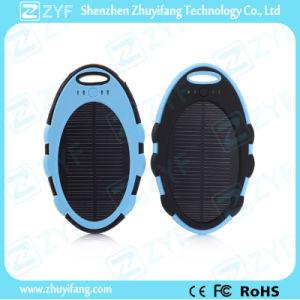 5000mAh External Battery Mirror Shape Solar Power Bank (ZYF8080) pictures & photos