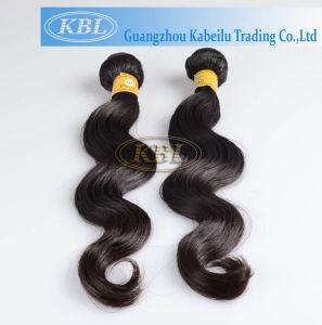 6A Cuticle Aligned Hair, Cheap Peruvian Human Hair Bundles pictures & photos