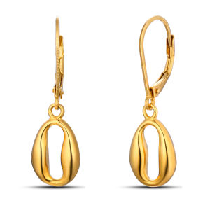 Fashion Gold Plated Hook Stainless Steel Earrings pictures & photos