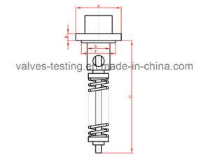 Oil Industry Built-in & External Type Industrial Safety Valves Testing Machine pictures & photos