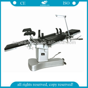 AG-Ot023 Manual Hydraulic Adjusted Operating Hospital Table pictures & photos