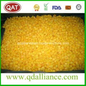 Top Quality IQF Frozen Diced Yellow Peach pictures & photos