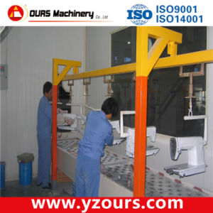 Manual Electrostatic Powder Coating Line/Machine/Equipment pictures & photos