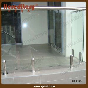 SUS 304# Glass Spigot in Frameless Glass Pool Fencing (SJ-S163) pictures & photos