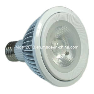 New 18W Fin 1600lm Pure White COB LED PAR 38 LED Lamp pictures & photos