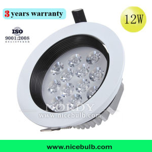 High Power 6063 Aluminum Round Hallway 12W LED Ceiling Light