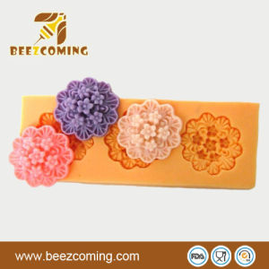 DIY Mini-Various Shapes--Flowers Silicone Sweetie &Fondant Mould (FS-001)