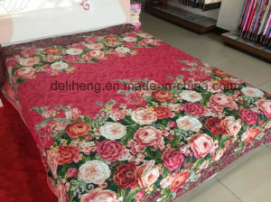 Soft and Comfortable 100% Cotton Printed Wholesale Sheeting Fabric pictures & photos