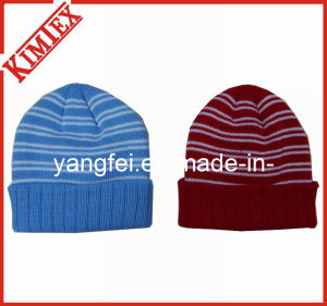 Winter Fashion Jacquard Acrylic Knitting Hat Cap pictures & photos