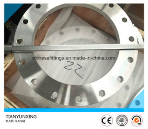 Flat Face Stainless Steel Plate En1092-1 Type01 Flange pictures & photos