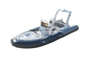 Aqualand 19feet 5.8m Rib Fishing Boat/Rigid Inflatable Boat (RIB580C) pictures & photos