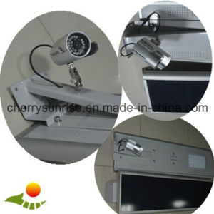 Batery Powered Motion Sensor Solar Pathway Light LED Solar Street Light with Outdoor CCTV Camera pictures & photos