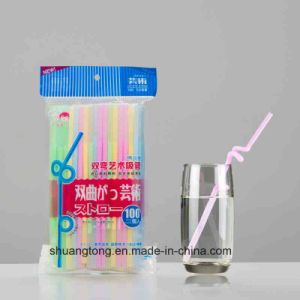 Bouble Bending Art Drinking Straw pictures & photos