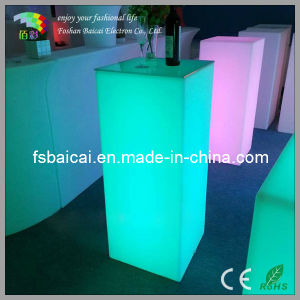 LED Square Table/Bar Table /Cocktail Table pictures & photos