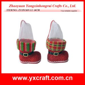 Christmas Decoration (ZY15Y169-1-2 14CM) Christmas Wholesale pictures & photos