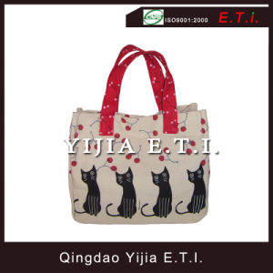 Small Size Cotton Canvas Carring Tote Bag pictures & photos