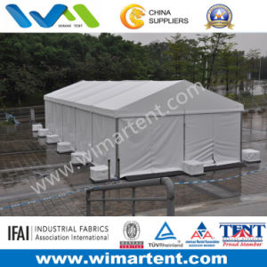 6X15m White PVC Aluminum Tent for Small Temporary Storage pictures & photos