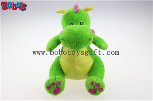 New Design Fanshion Gifts Stuffed Green Dinosaur Animals with Purple Shiny Wingsbos1202 pictures & photos