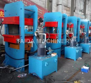 Rubber Plate Curing Vulcanizing Press Vulcanizer Machine Factory Plant Manufacturers pictures & photos