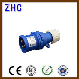 IEC60309-2 16A 220V 2p+E IP44 Industrial Plug pictures & photos
