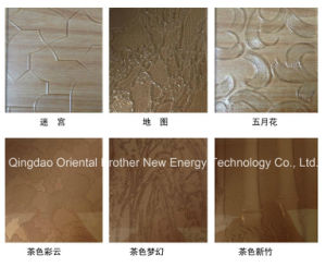 3mm, 4mm, 5mm, 6mm, Clear Patterned Glass/Rolled Glass/Figured Glass pictures & photos