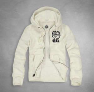Customized High Quality Embroidery Logo Zipper Hoodie with Tag pictures & photos