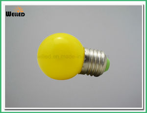 3W High Brightness Globe G45 LED Bulb Light E27 B22 with Different Color Red Green Blue Amber Yellow pictures & photos