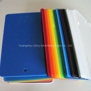 High Gloss Hardcoated Plastic Acrylic Sheet 1220X2440mm pictures & photos