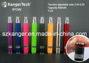 Ipow-LCD Screen of Electronic Cigarette Spinning Battery pictures & photos